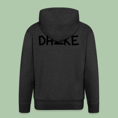 dazke_bunt - Männer Premium Kapuzenjacke