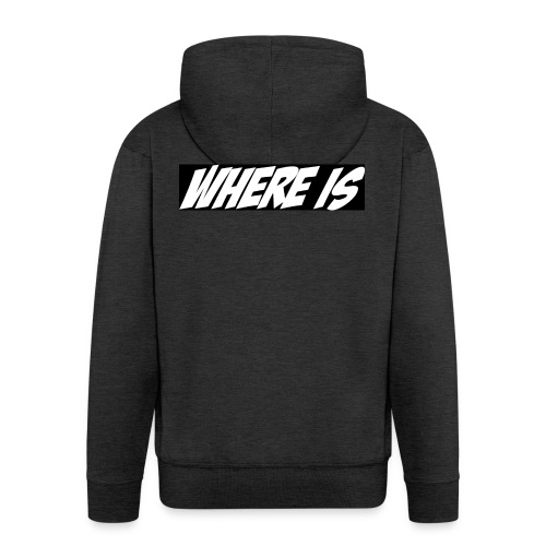 Where IS - Veste à capuche Premium Homme
