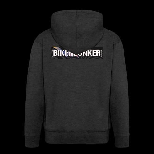 BikerBunker Classic Hoodie - Männer Premium Kapuzenjacke