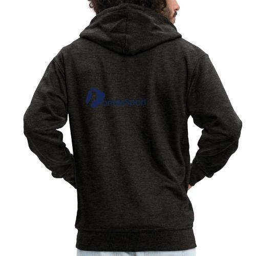 Logo DomesSport Blue noBg - Männer Premium Kapuzenjacke
