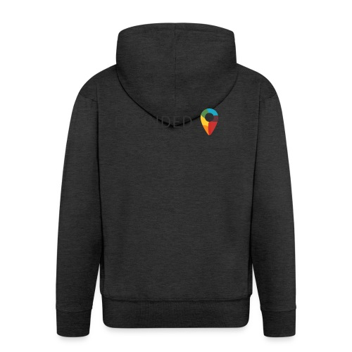 FoundedX logo png - Men's Premium Hooded Jacket