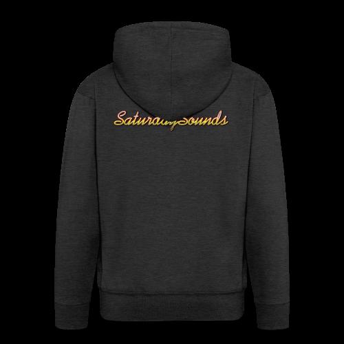SaturdaySounds Hoes voor lPhone 5/5s. - Mannenjack Premium met capuchon