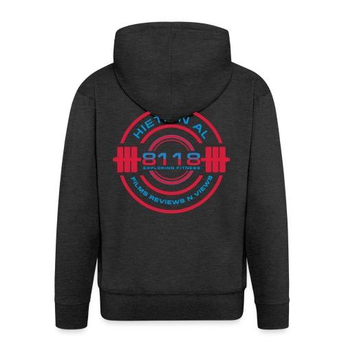 8118 Exploring Fitness - Men's Premium Hooded Jacket