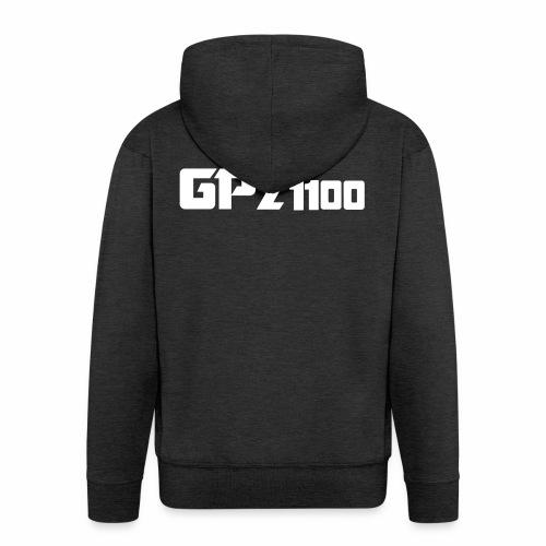GPz 1100 white - Männer Premium Kapuzenjacke