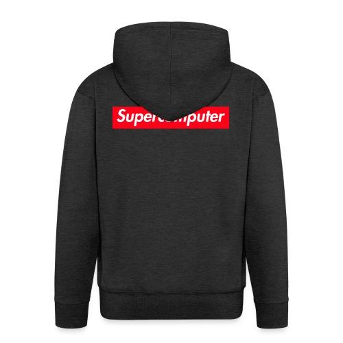 Tiny Supercomputer - Men's Premium Hooded Jacket