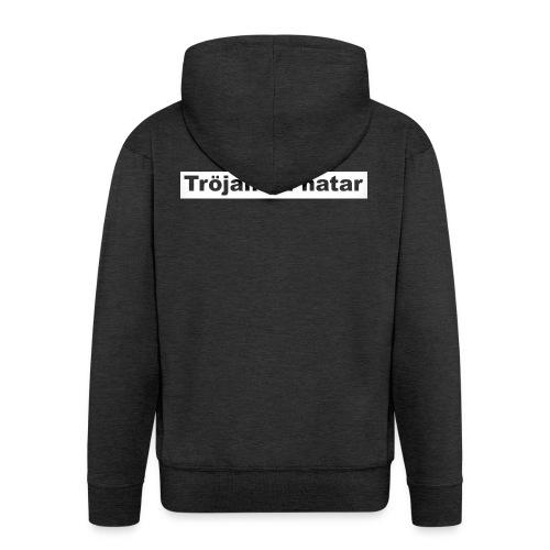 tröjan du hatar - Premium-Luvjacka herr