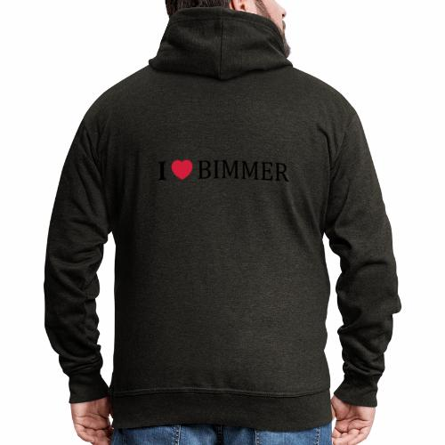 I Love Bimmer - Männer Premium Kapuzenjacke