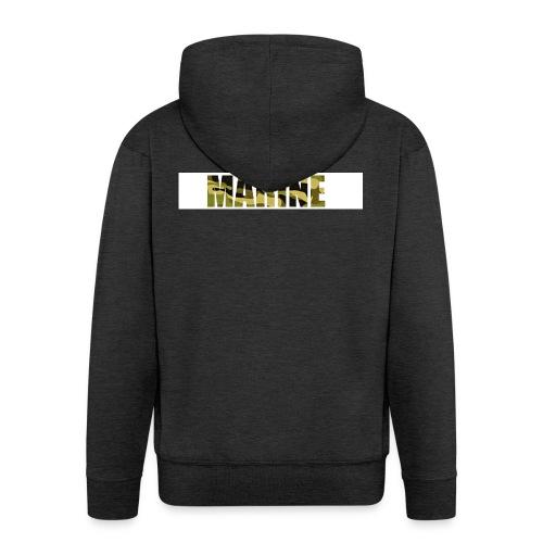 Marine Army - Herre premium hættejakke