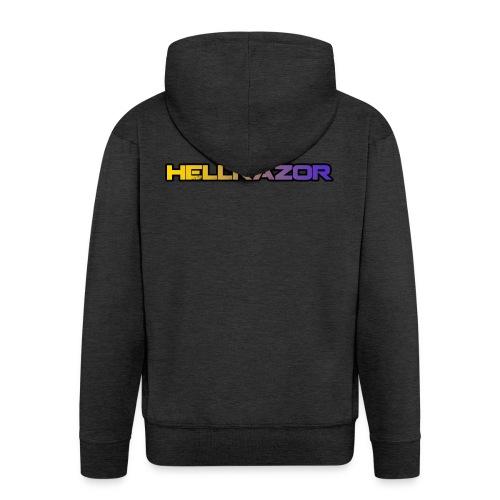 Hellrazor MK5 - Felpa con zip Premium da uomo