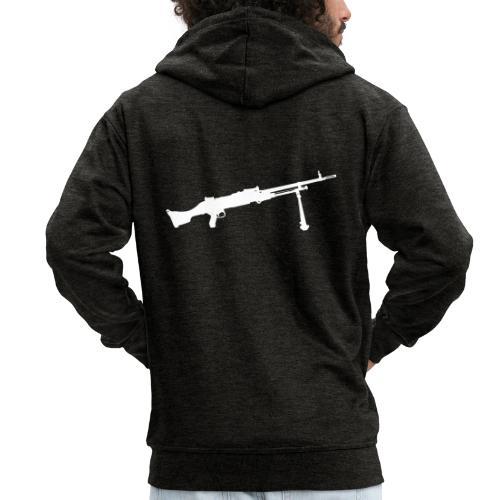 Machine Gun - Kulspruta 58B - FN MAG M240 - Premium-Luvjacka herr