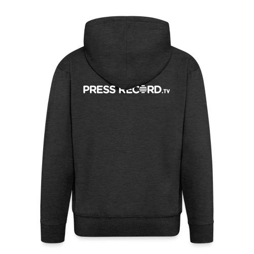 PressRecordTV Hoodie - Men's Premium Hooded Jacket
