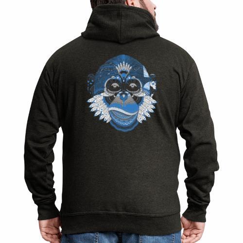 Affe - Männer Premium Kapuzenjacke