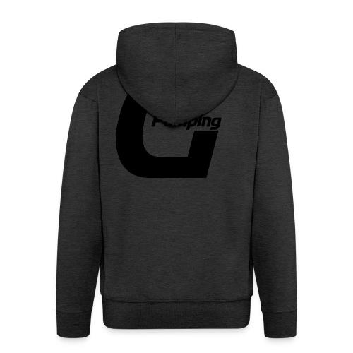 Pumping Generation Logo - Männer Premium Kapuzenjacke