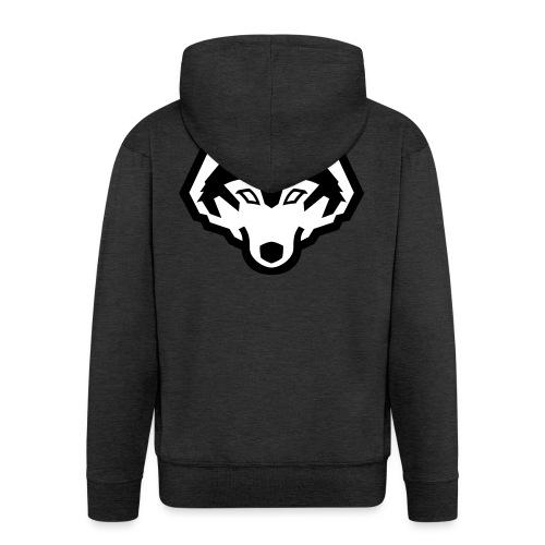 wolfpb - Männer Premium Kapuzenjacke
