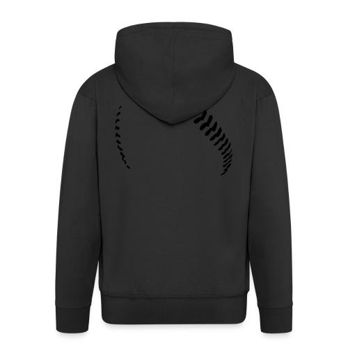 Baseball - Men's Premium Hooded Jacket