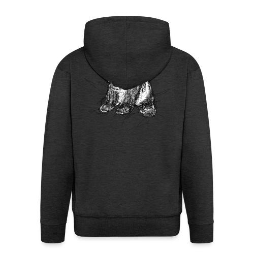 Scribblepanda - Men's Premium Hooded Jacket