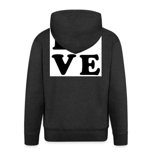 Love t-shirt - Veste à capuche Premium Homme