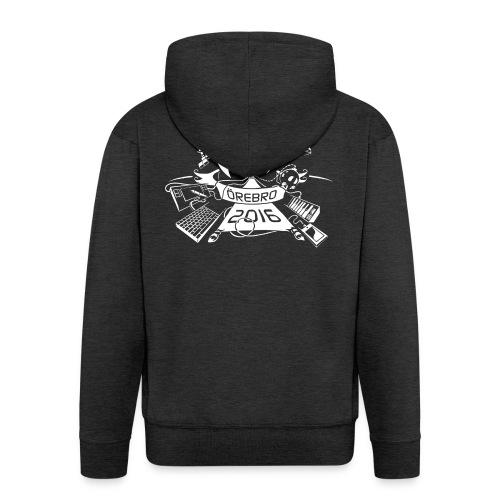 Castle Game Jam 2016 - Men's Premium Hooded Jacket