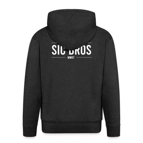 sicbros1 mwkt - Men's Premium Hooded Jacket