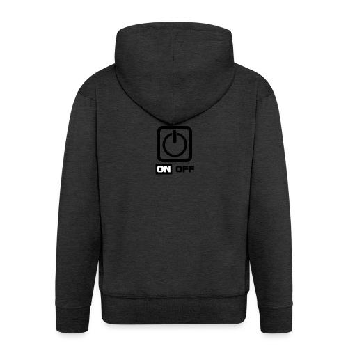 Tar Mode Black png - Men's Premium Hooded Jacket