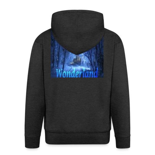 Winter Wonderland - Premium Hettejakke for menn
