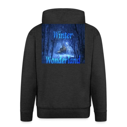 Winter Wonderland - Premium Hettejakke for menn