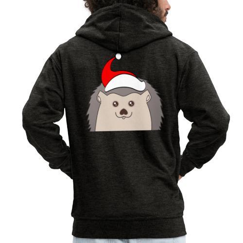 Weihnachts Hed - Männer Premium Kapuzenjacke