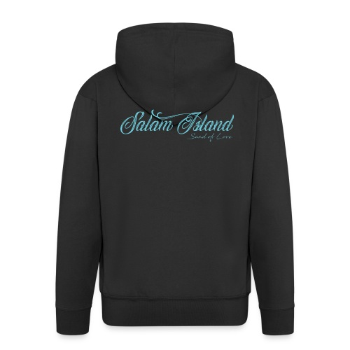 Salam Island calli bleu - Veste à capuche Premium Homme