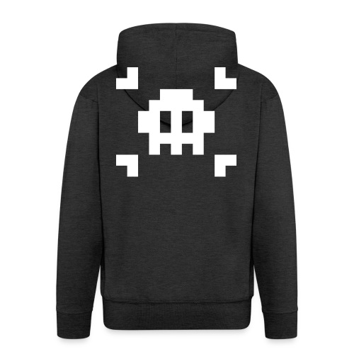 Mug Pixel Skull - Veste à capuche Premium Homme
