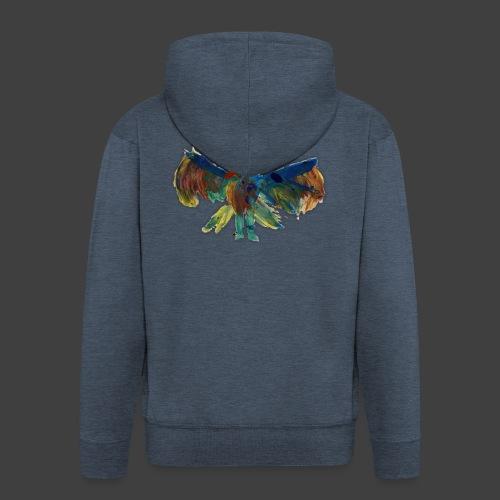 Mayas bird - Men's Premium Hooded Jacket