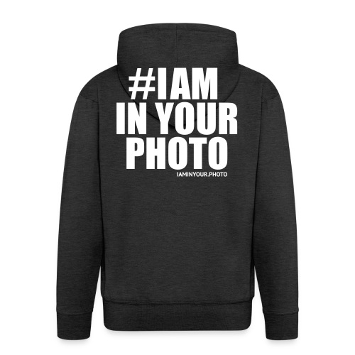 I AM IN YOUR PHOTO T-shirt Women - Mannenjack Premium met capuchon