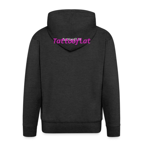 Tattooflat T-shirt - Men's Premium Hooded Jacket