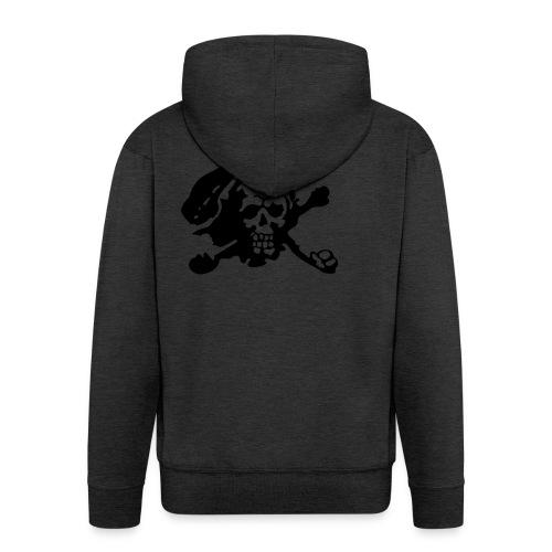 Skull Attack - Men's Premium Hooded Jacket