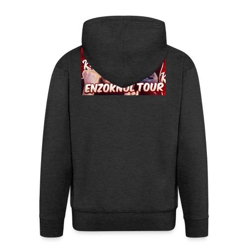 EnzoKnol Tour - Mannenjack Premium met capuchon