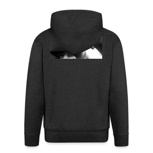 Basse Tshirt - Herre premium hættejakke