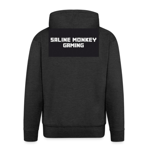 Saline monkey gaming tröja - Premium-Luvjacka herr