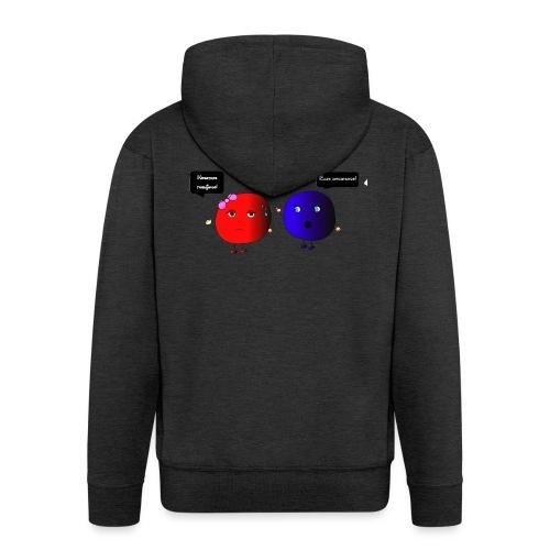 Diseño parchís camiseta - Chaqueta con capucha premium hombre