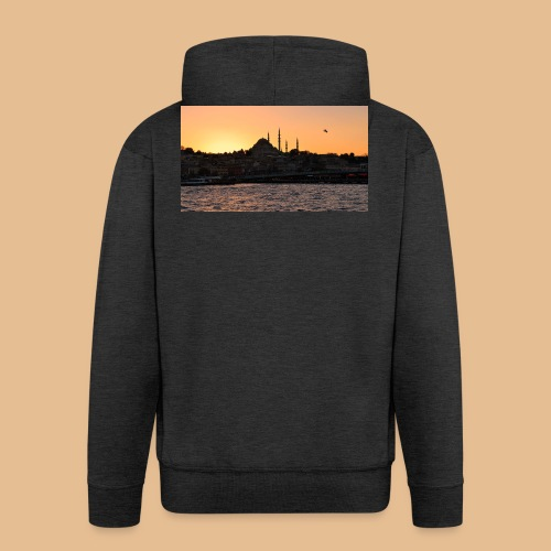 Istanbul_Sea_Urban_Sunset_Ultra_HD - Veste à capuche Premium Homme