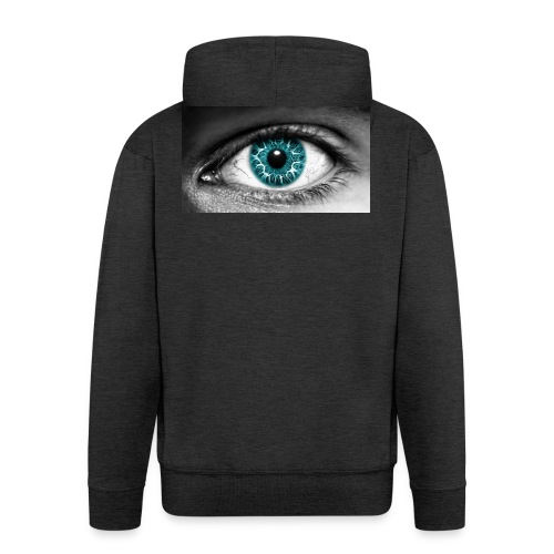 eyes_2 - Mannenjack Premium met capuchon