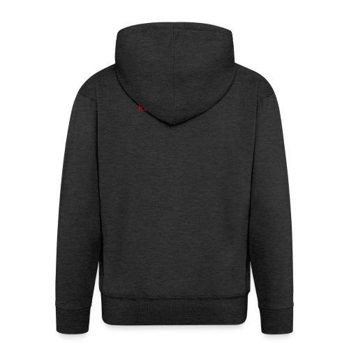 Logo Negro - Chaqueta con capucha premium hombre