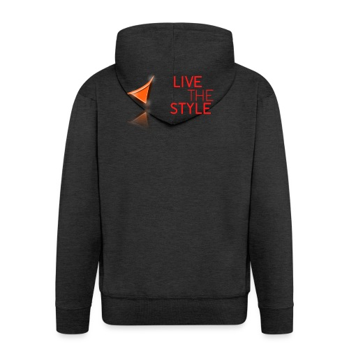 Live The Style - Men's Premium Hooded Jacket