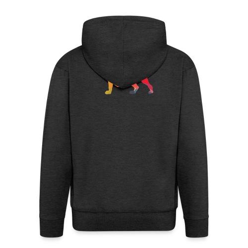 lion - Mannenjack Premium met capuchon