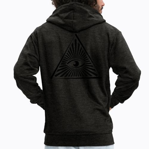 eye - Men's Premium Hooded Jacket