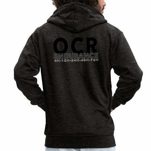 OCR 4h12h24h48h72hnoir - Veste à capuche Premium Homme
