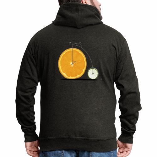 Fruit Bicycle - Men's Premium Hooded Jacket