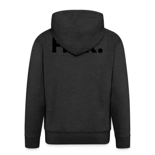 Fixr Shirt Heren - Mannenjack Premium met capuchon