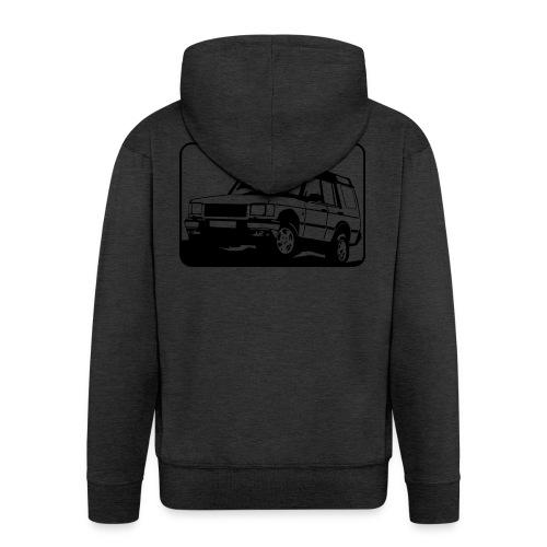 Landie Disco - Autonaut.com - Men's Premium Hooded Jacket