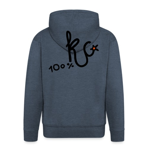 100%KC - Mannenjack Premium met capuchon
