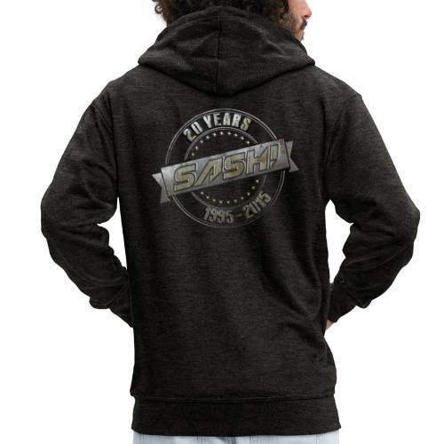 SASH! *** 20 Years *** - Men's Premium Hooded Jacket