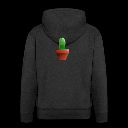 CartoonCacti! - Men's Premium Hooded Jacket